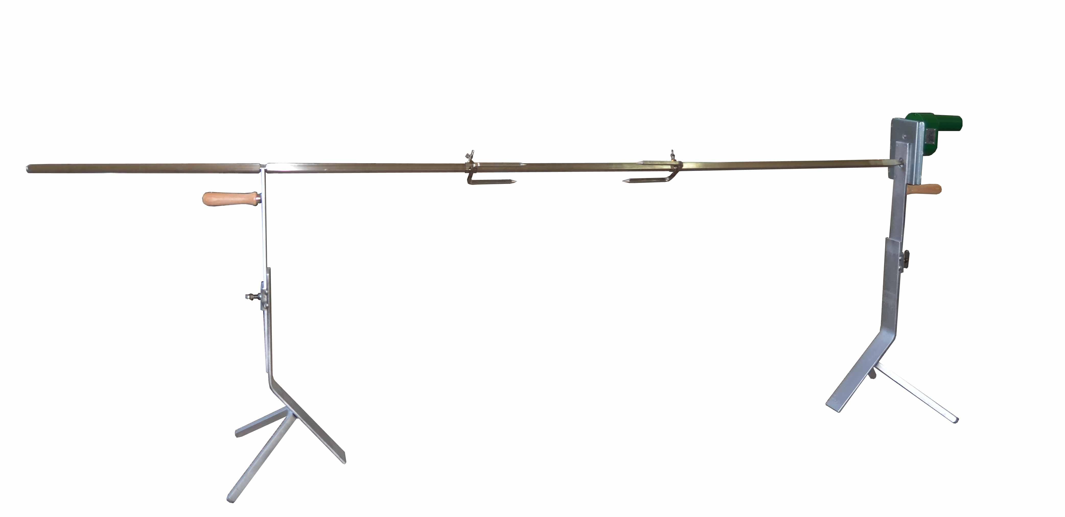 spanferkelgrill 3 bein set online kaufen im spiess onlineshop. Black Bedroom Furniture Sets. Home Design Ideas