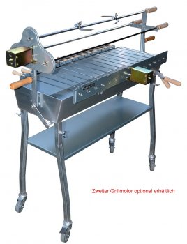 Holzkohlegrill Spiessgrill Churrasco 90
