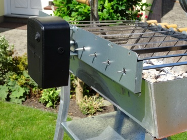 Spiessgrill mit Batterie Power Grillmotor GT7