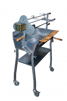 Holzkohlegrill Spiessgrill Churrasco 70