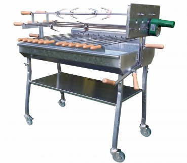 Holzkohlegrill Spiessgrill Churrasco 90 Catering