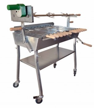 Holzkohlegrill Spiessgrill 80