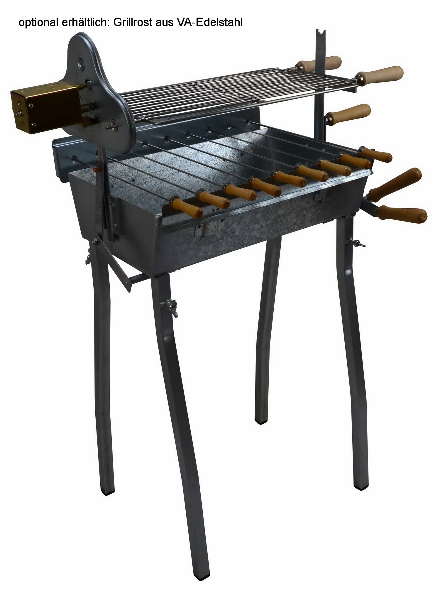 rotisserie barbecue grill churrasco 50 buy bbq grills online in germany spiess. Black Bedroom Furniture Sets. Home Design Ideas