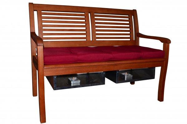 die beheizbare gartenbank mit leuchteffekt online kaufen. Black Bedroom Furniture Sets. Home Design Ideas