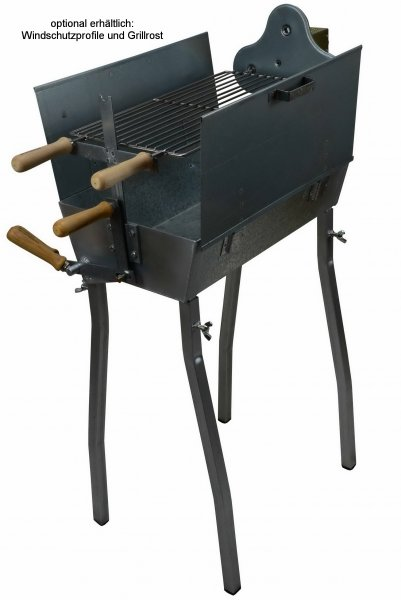 Holzkohlegrill Spiessgrill Churrasco 50